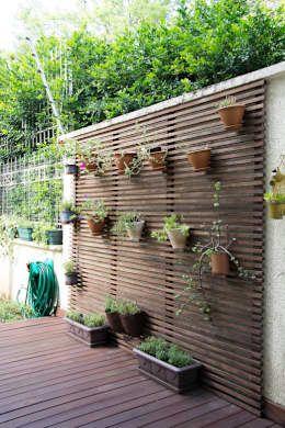sichtschutz im garten beleuchten pflanzen landschaft | garten, Garten und erstellen