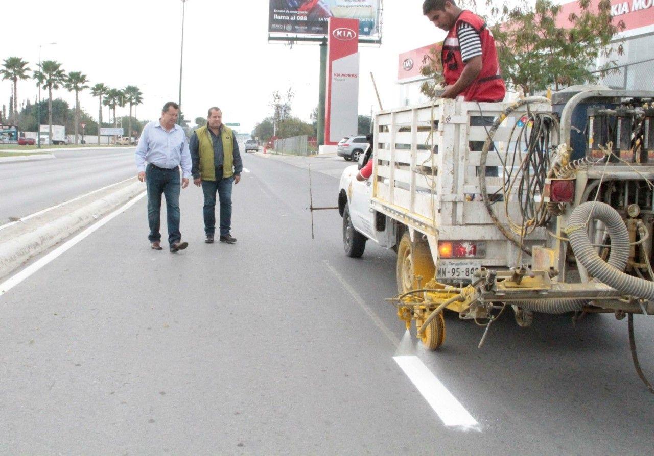Supervisa Óscar Almaraz rehabilitación de servicios públicos