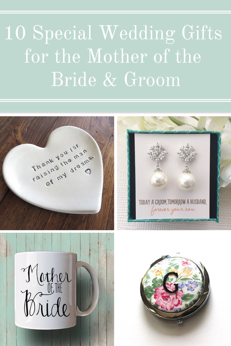 10 special wedding gifts for the mother of the bride and groom in