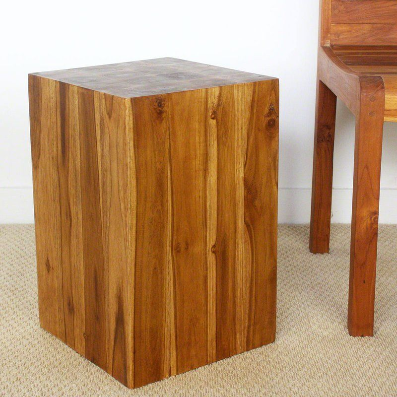 Winton Block End Table In 2019 Tables