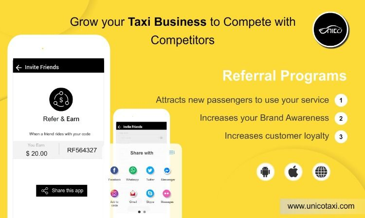 How to Grow/Improve your Taxi Business to Compete With