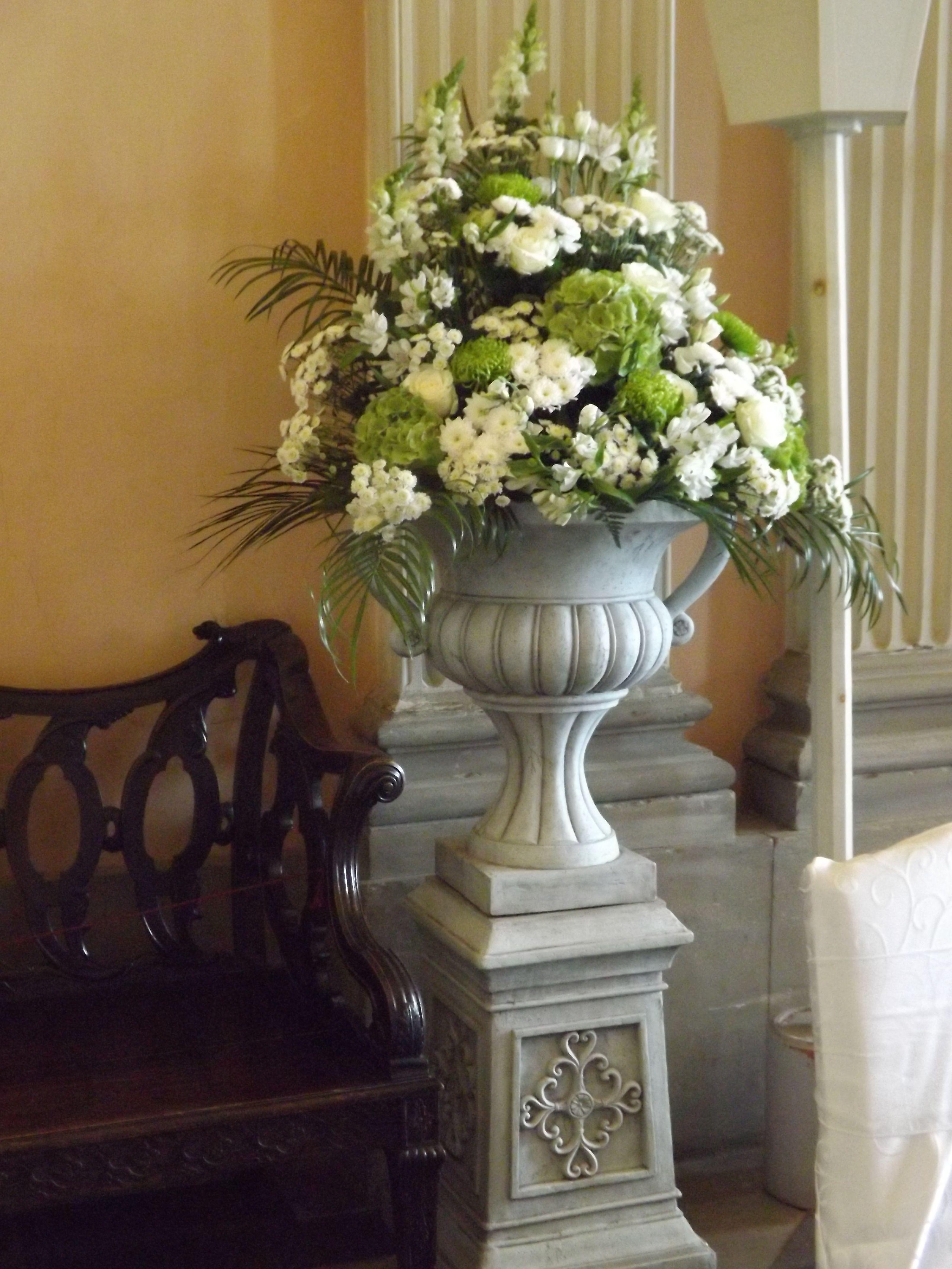 Wedding Reception Flowers At Ragley Hall Wedding