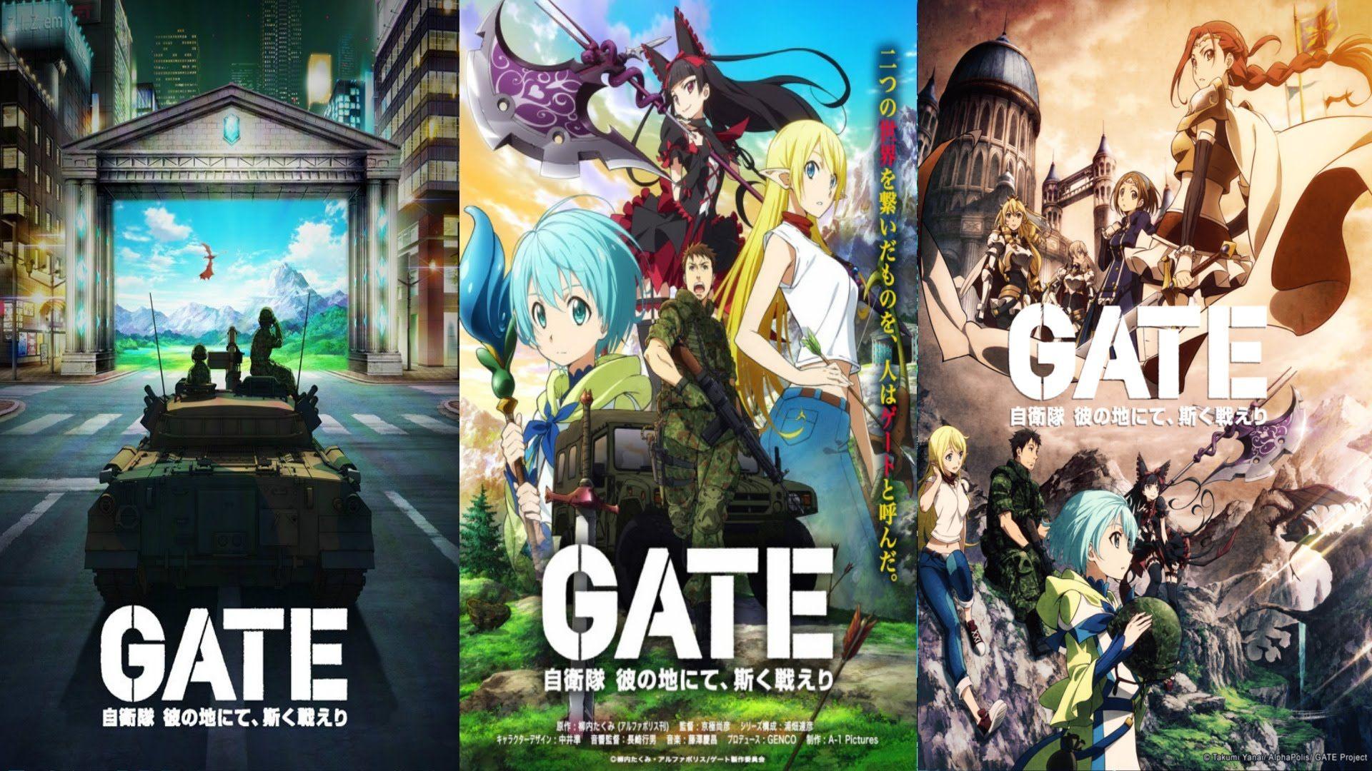 Anime Gate Jieitai Kanochi Nite, Kaku Tatakaeri Wallpaper