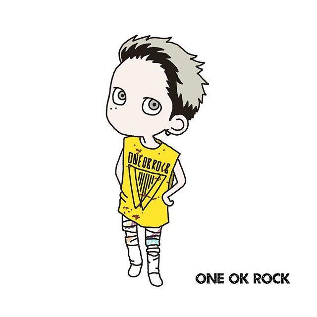 Oneokrock In Nagisaen このテイストで4人描いてみたいなぁ Oneokrock ワンオク ワンオクイラスト部 taka 渚園 ワンオク ワンオクロック わんおくろっく