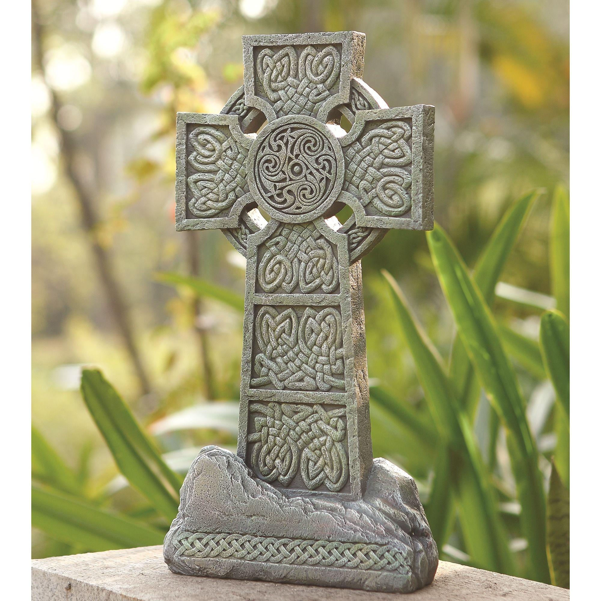Celtic Garden Cross 16.25 | Gardens