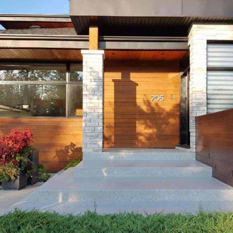 Revetement De Beton Exterieur Beton Surface Plancher Garage Beton Surface Surface Plancher