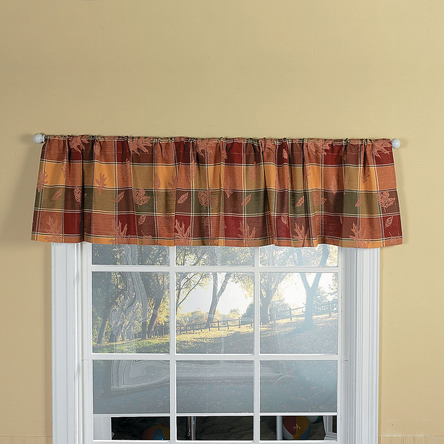 Fall Kitchen Valance Kitchen Valances Fall Kitchen Valance