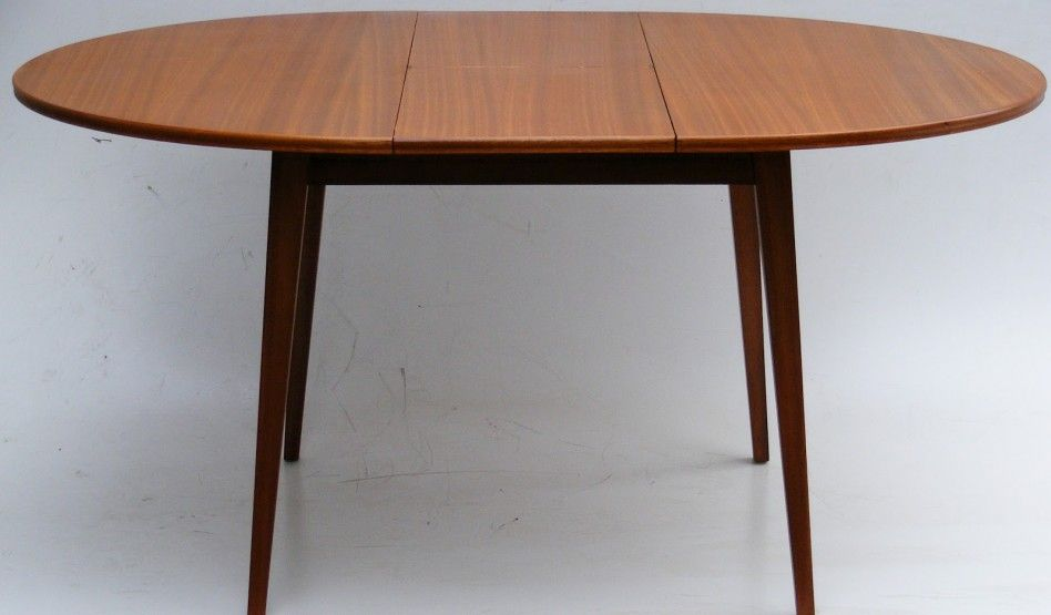 Simple Minimalist Dining Set: Dining Room, : Simple And Neat Round To Oval E Pandable