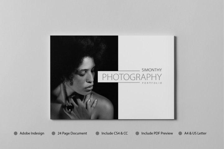 A4 Minimalist PORTFOLIO   TEMPLATE   Pinterest   A4, Minimalist and ...