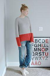 Ravelry: patrón Plowline Raglan suéter de Elly Fales