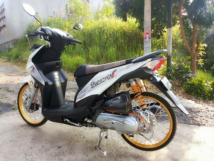 Modifikasi Honda Beat Fi Velg 17 Warna Putih Gambar Selengkapnya