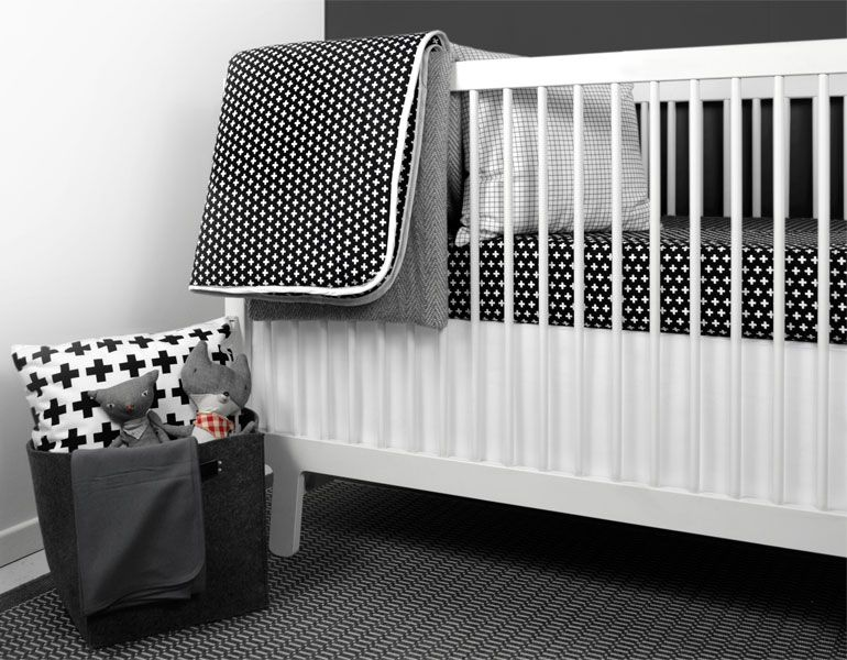 shop ollilime for modern baby bedding black and white crib bedding u0026 baby blankets to help you create a perfect modern nursery