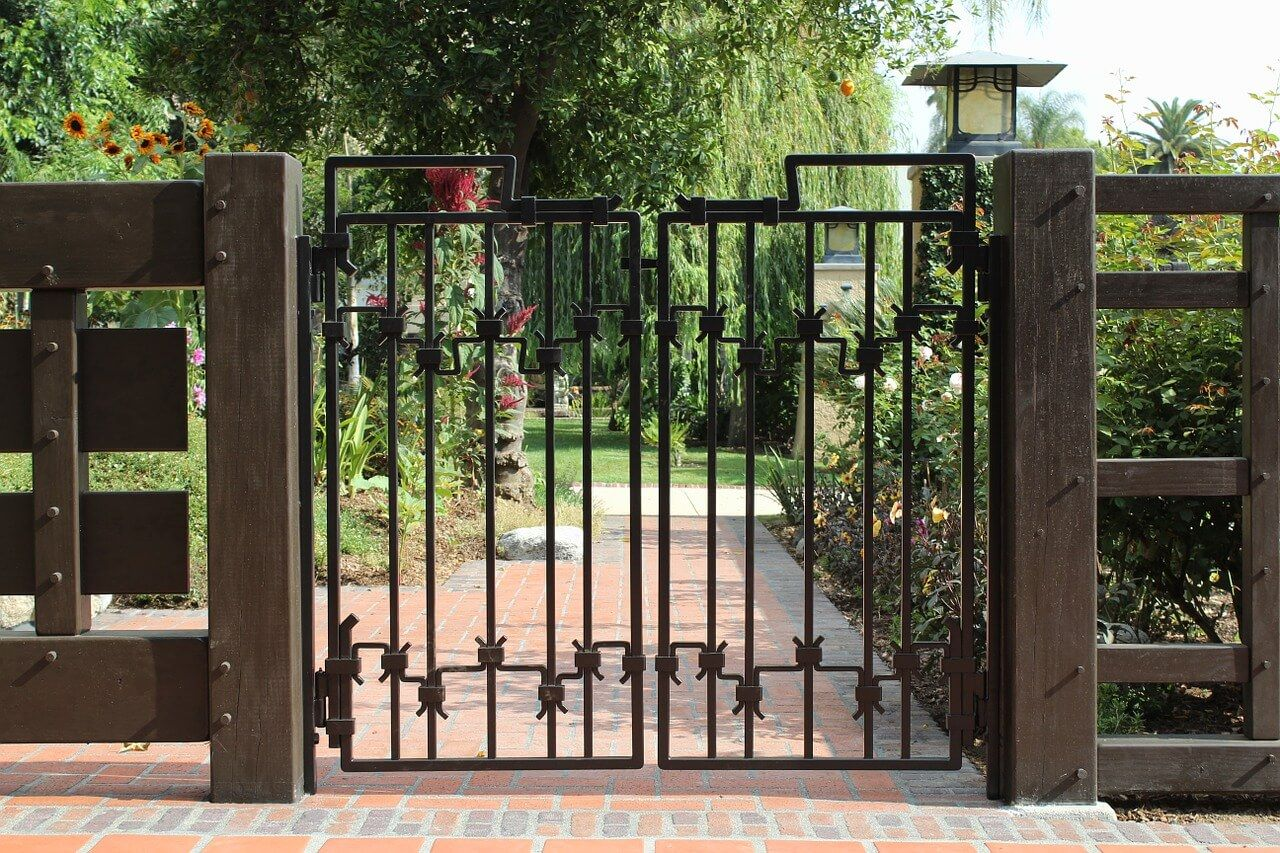 15 Welcome Simple Gate Design For Small House Simple Gate