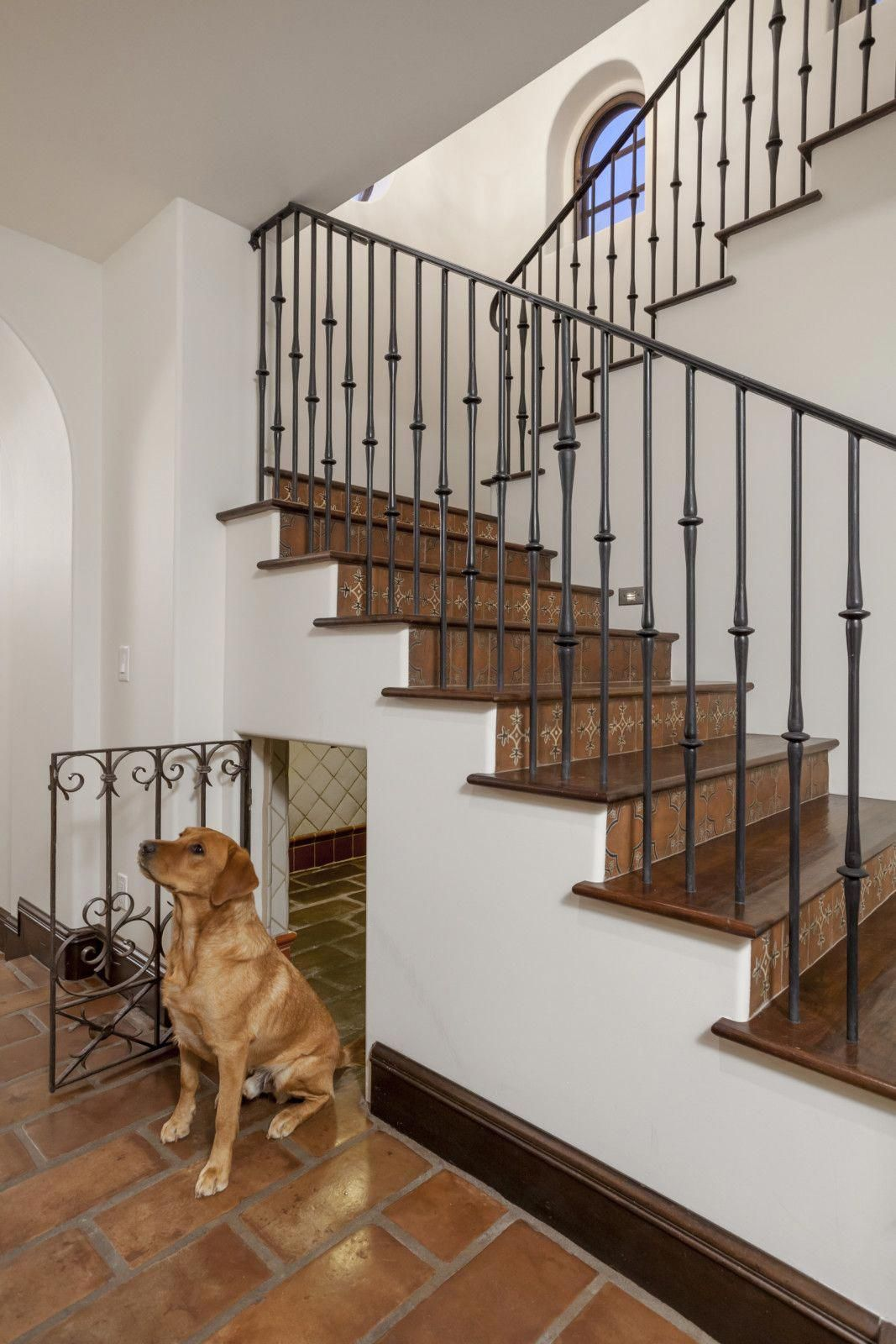 This 8 Million (Dog)House Could Be Yours Under stairs
