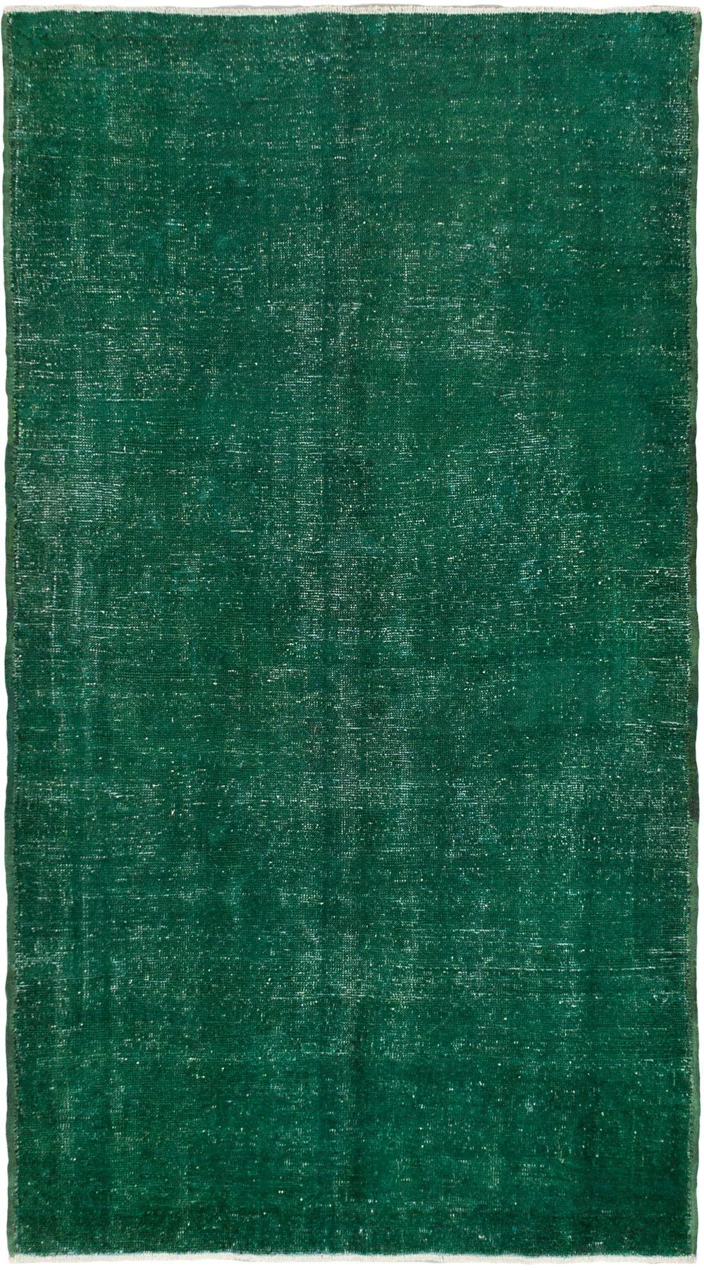 4 3 X 7 7 Emerald Green Turkish Overdyed Rug Emerald Green Rug
