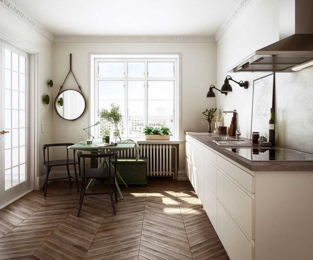 Paris and Helsinki mixed together. HTH kitchen.
