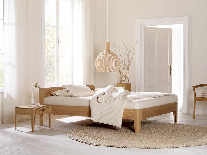 GRÜNE ERDE  Bed Tana  Eiche  180x200 cm Bett Pinterest - schlafzimmer eiche