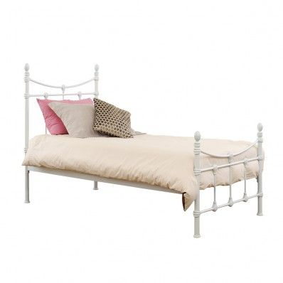 Regent Single Bed White Bed Furniture White Bedding Bed For
