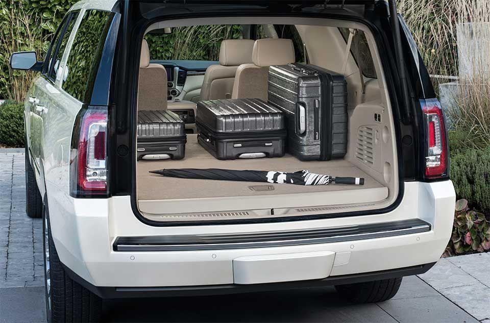 Yukon Denali Full Size Suv Luxurious Interior Features Premium
