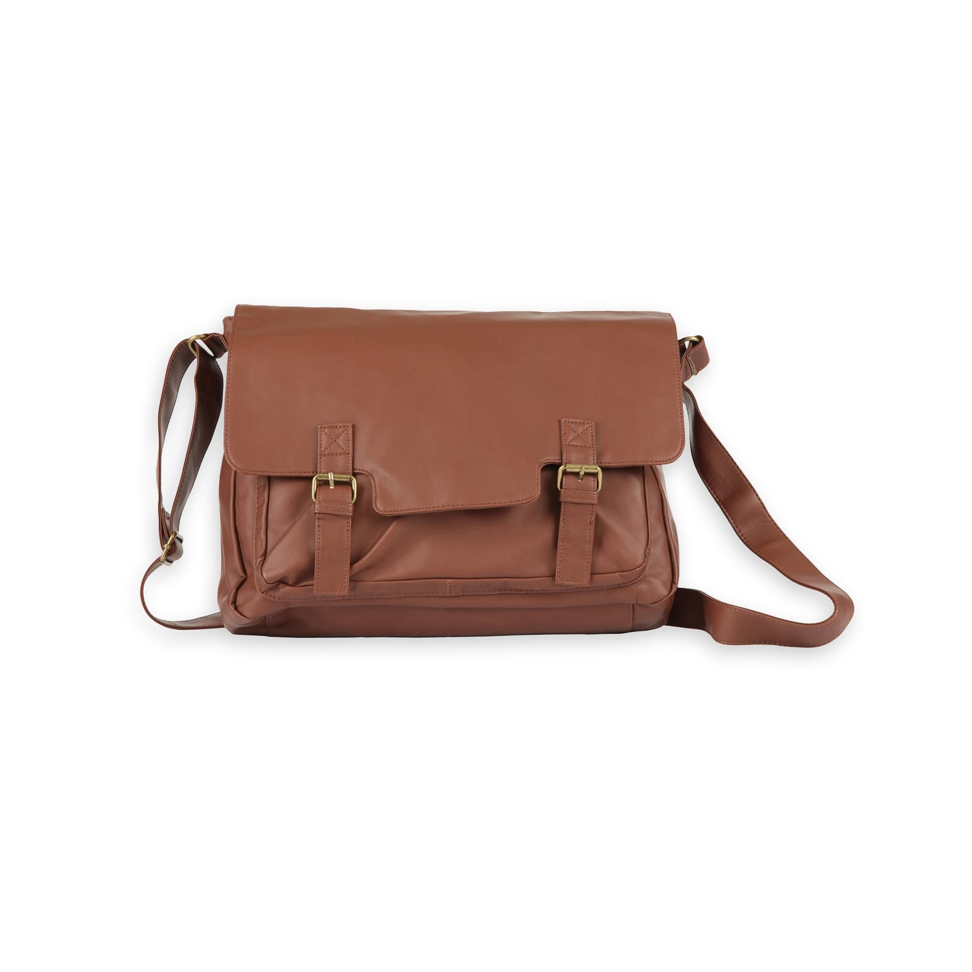 7572229eea0 Bongo Junior s Faux Leather Messenger Bag - For the Home - Backpacks   Messenger  Bags - Messenger Bags