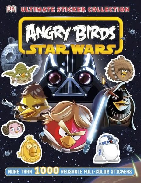 Angry Birds Star Wars Ultimate Sticker Collection Angry Birds
