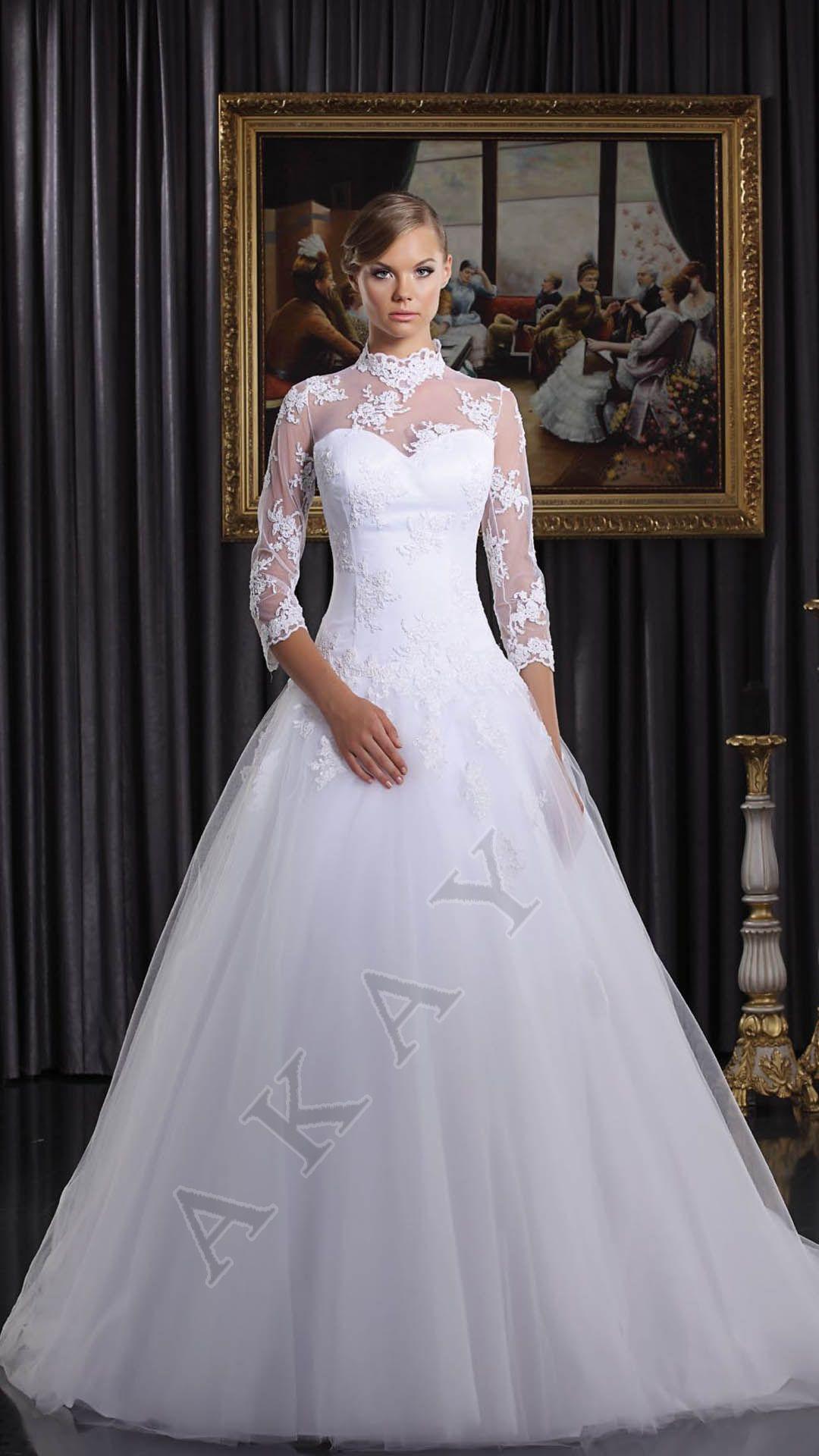 17 Barok Tarzı Gelinlik Modeli 2019