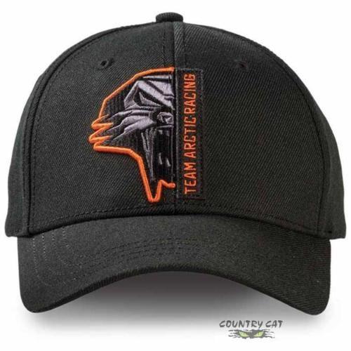 b235f2979fd  Arctic cat  adult team arctic racing  baseball cap hat - black   orange