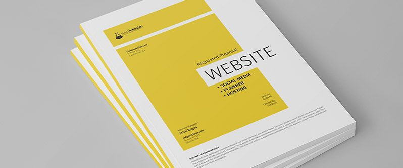 Website Project Proposal Free Business Proposal Template Website Design Free Business Proposal Template