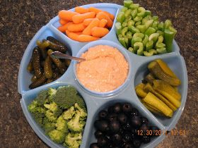 Cooking Mishaps: Thanksgiving Feast - Appetizer - Veggies and Dip