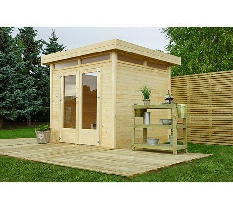 outdoor life flachdachhaus 18 mm mit lichterkranz gardening pinterest. Black Bedroom Furniture Sets. Home Design Ideas