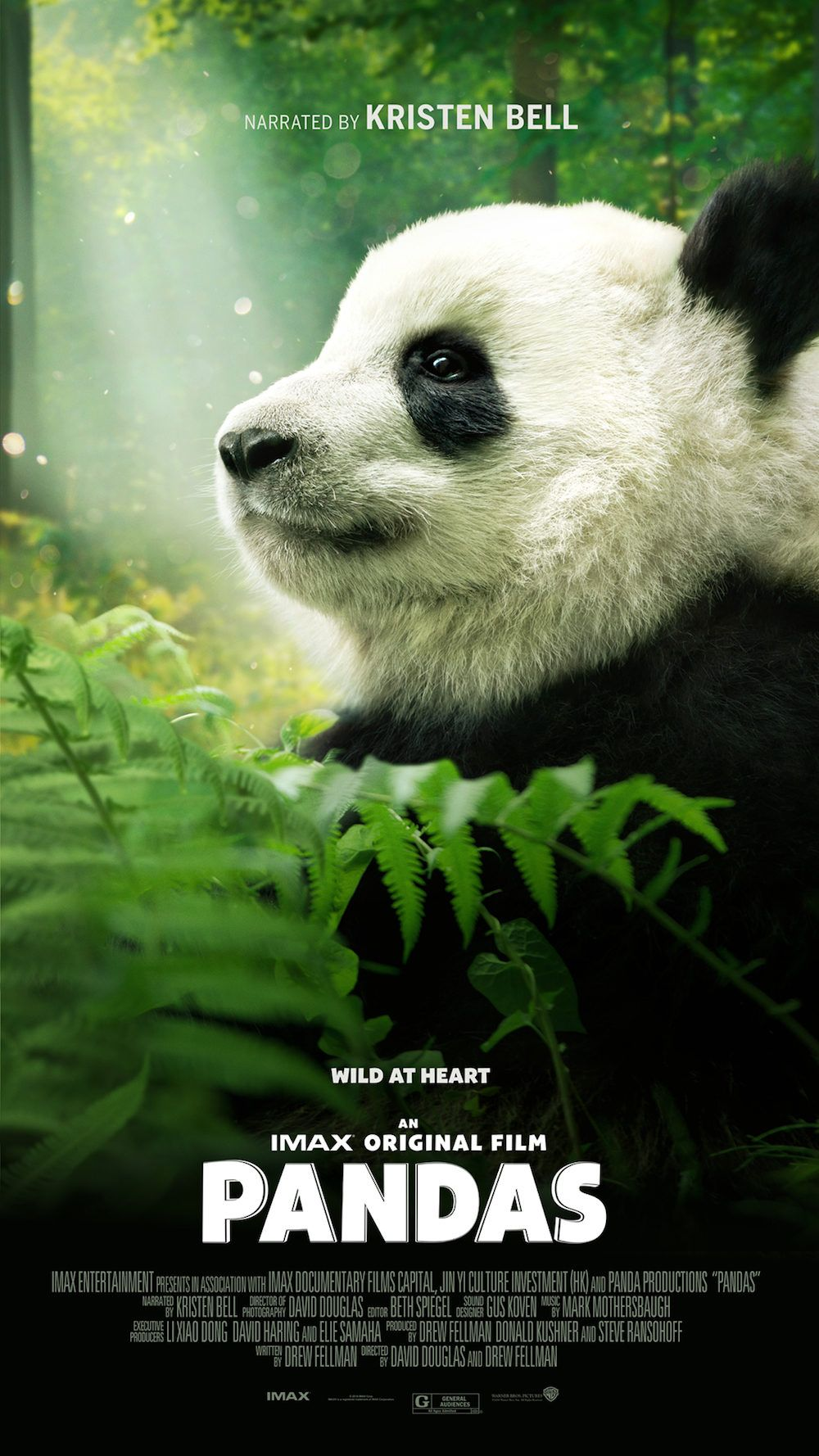 Pandas Movie With Kristen Bell With Images Panda Movies Panda