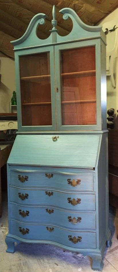 Blue Refinished Furniture