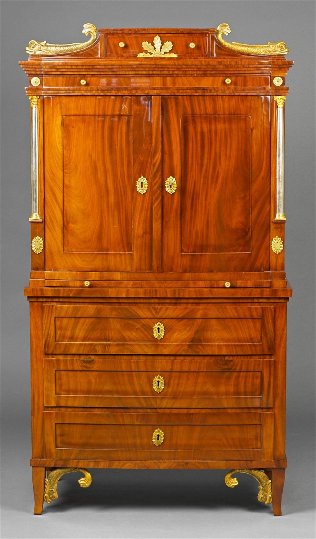 Date Unspecified A Inlaid Cabinet A Deux Corps East Prussian Russian 1st Half 19th C Estima Antique Furniture Beautiful Furniture Refurbished Furniture