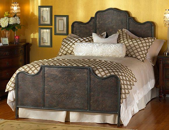 Wesley Allen Abington Iron Bed Iron Headboard Wrought Iron Beds
