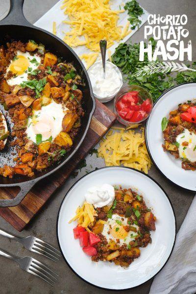 Chorizo Potato Hash