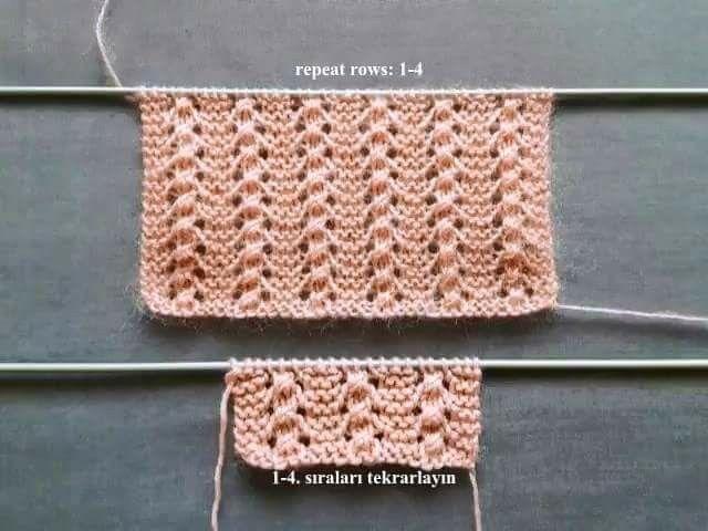 Pin de İ en Örgü desenleri (knitting patterns) | Pinterest