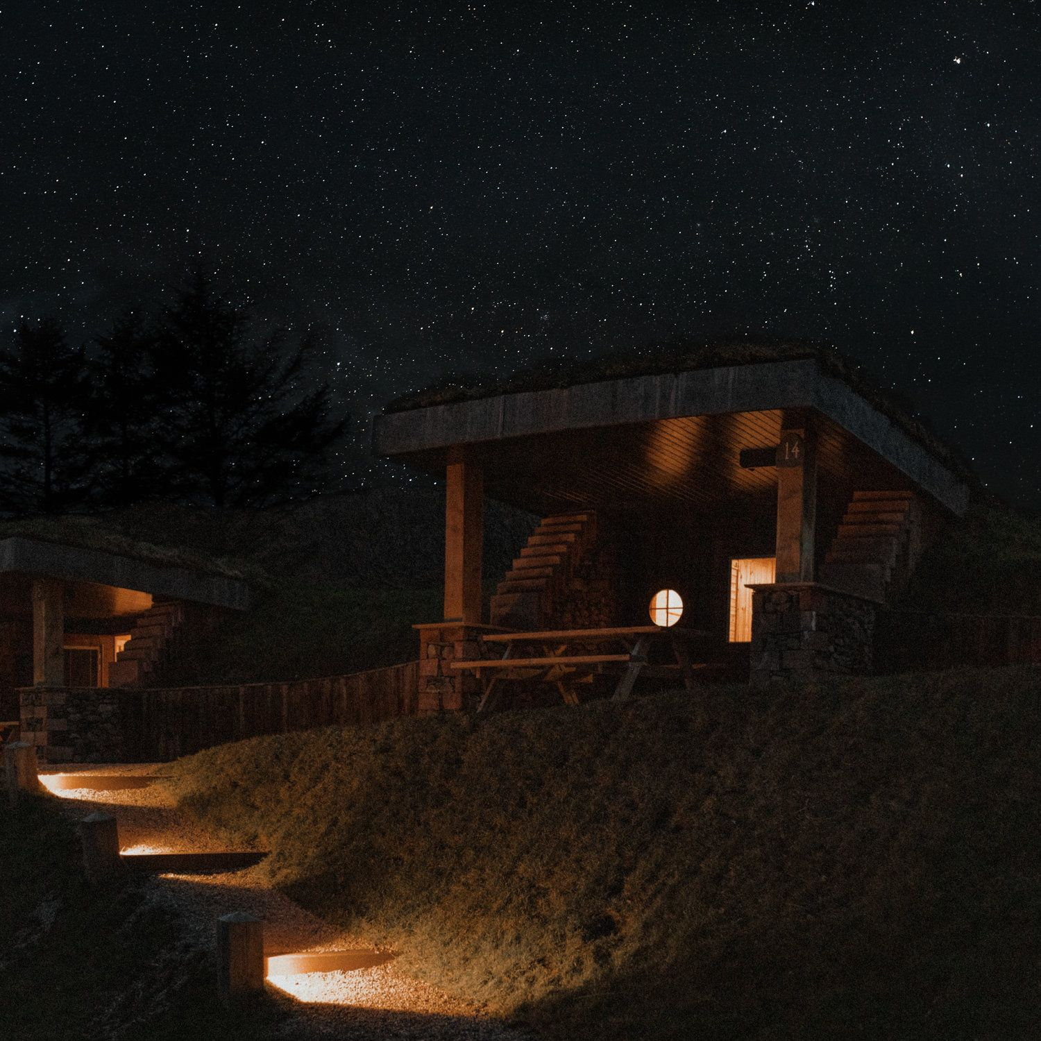 Commercial Glamping at The Quiet Site by Amy Robinson