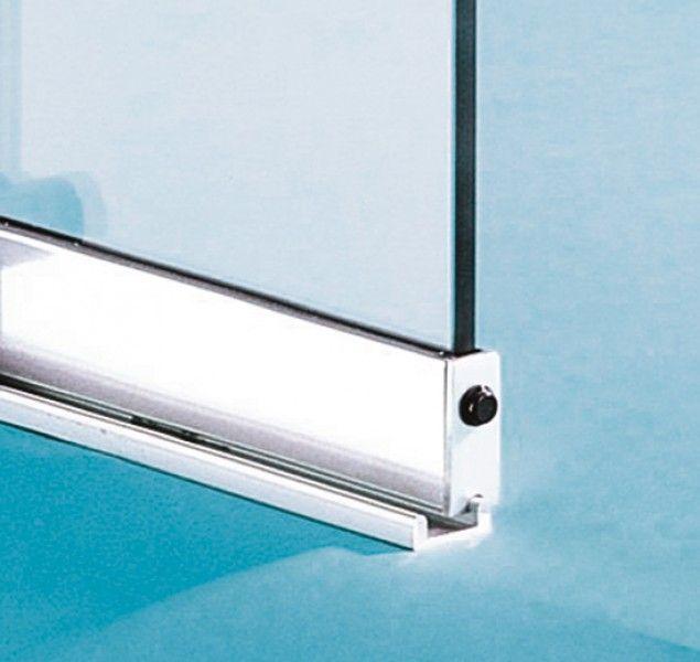 System Freeslide, 6 mm Glass | Saveker Sliding Glass Tracking - System Freeslide | Sliding Door Systems | Interior Fittings | Fittings | Products | Bohle UK [EN]