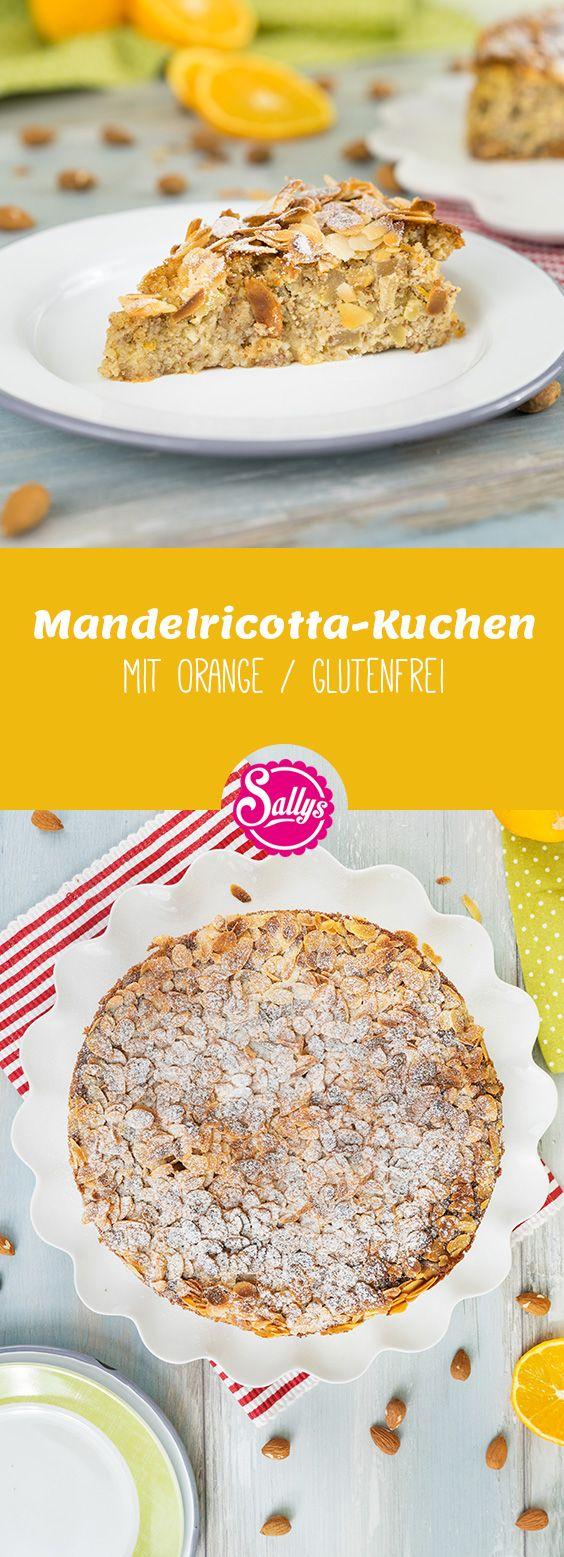 der italienische mandelricotta kuchen ist ein glutenfreier kuchen ohne mehl mit einem feinen. Black Bedroom Furniture Sets. Home Design Ideas