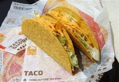 Order almost any Taco Bell menu item fresco style and the fast food chain will replace cheese and sauces with a chunky tomato salsa, cutting calories and fat by at least 25 percent. (Fred Prouser / Reuters)