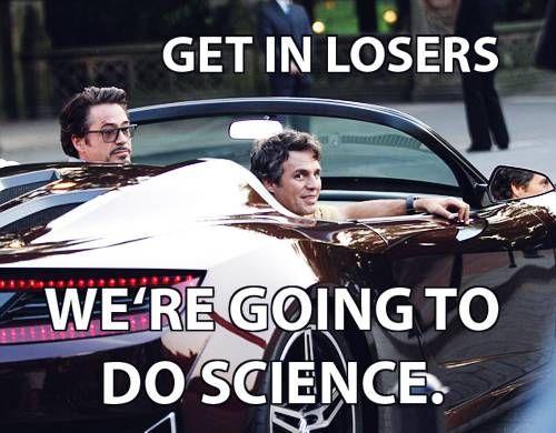 Science Bros + Mean Girls. :D