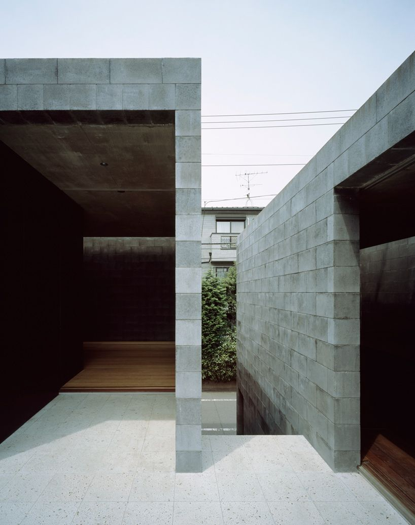 Marvelous A Composition Of Three Monolithic Volumes Constructed Out Of More Than 7000 Concrete  Blocks, The