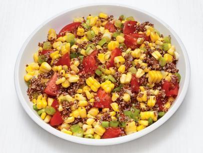 Quinoa corn salad recipe food network kitchen food network quinoa corn salad recipe food network kitchen food network forumfinder Choice Image