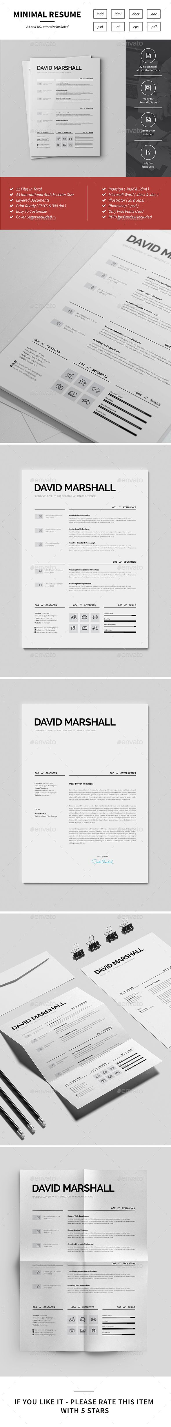 Resume  Ai Illustrator Template And Design Resume