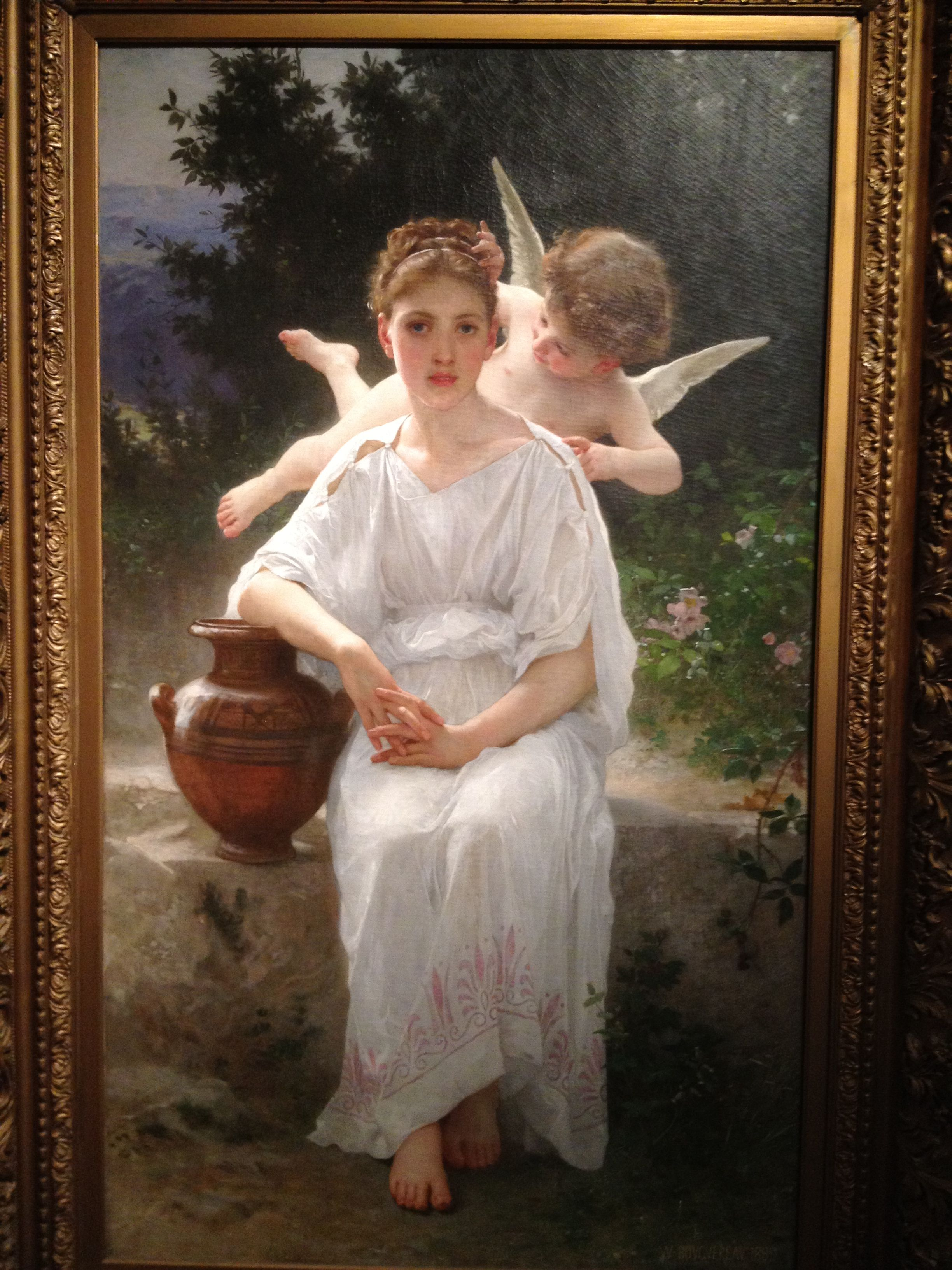 William-Adolphe Bouguereau At the Fountain, no date