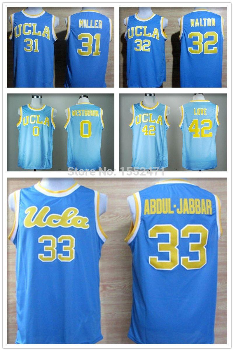 f77bc2ef84ed Find More Sports Jerseys Information about UCLA Bruins jersey  33 Kareem  Abdul Jabbar basketball jersey