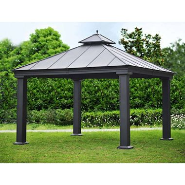 Royal Hardtop Gazebo - 12u0027 x 12u0027  sc 1 st  Pinterest & Royal Hardtop Gazebo - 12u0027 x 12u0027 | Backyard Pergolas and Patios