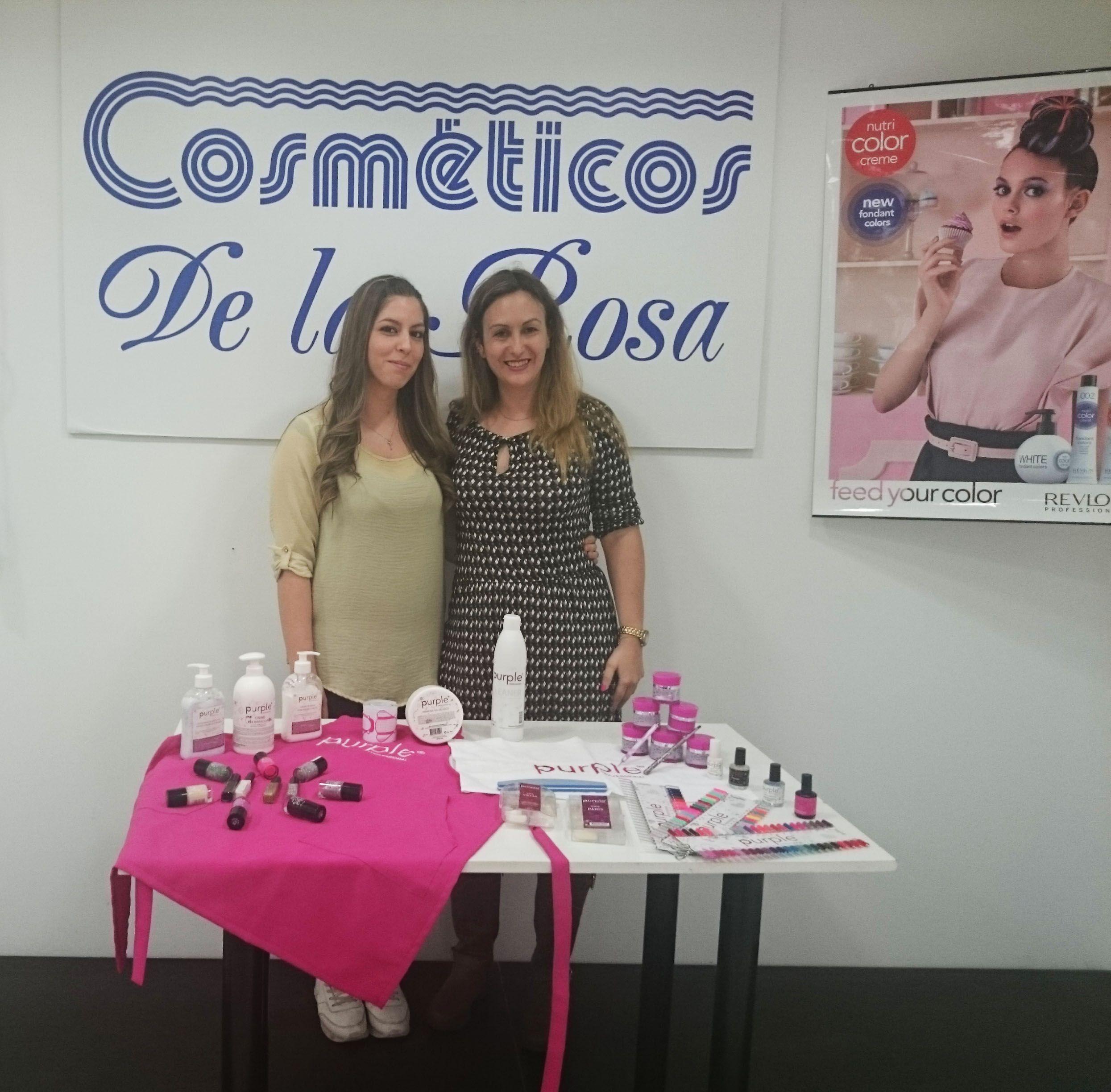 cosméticos de la rosa