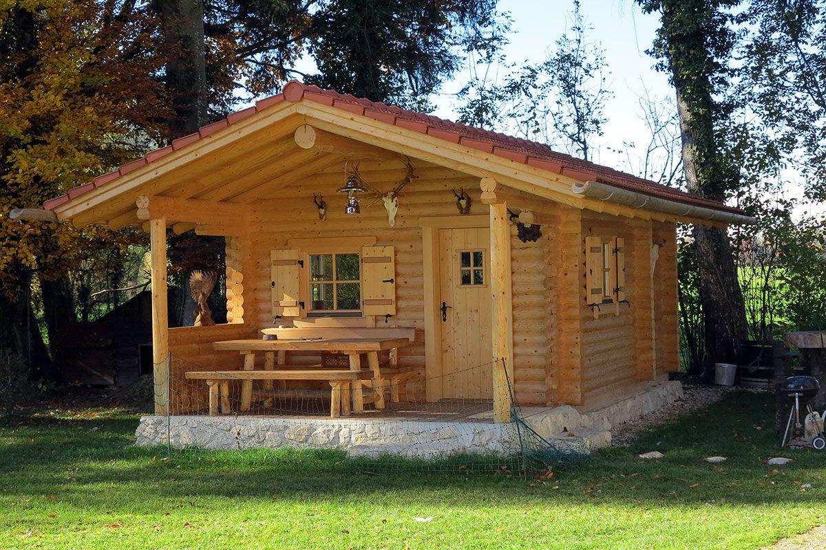 Blockhaus Fur Den Garten Little Log Cabin House In The Woods Log Homes