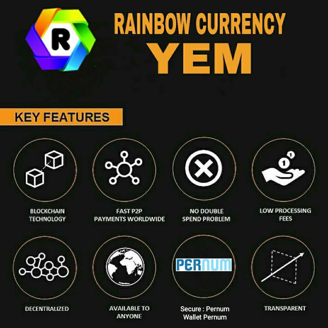 Yem Coin L What Is Yem L Rainbow Currency L Your Everyday Money L